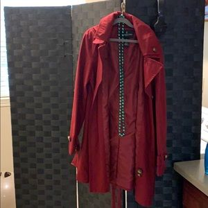 London Fog red jacket